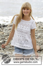 Erica Top by DROPS Design