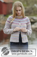 Sweet As Candy Cardigan by DROPS Design
