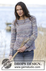 Arctic Ocean Sweater by DROPS Design