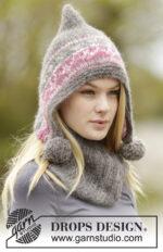 Sweet Winter Hat by DROPS Design
