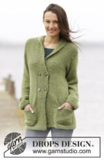 Autumn Forest Jacket by DROPS Design