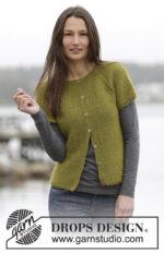 Sweet Olivia Vest by DROPS Design