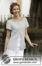 Lady Ascot Cardigan by DROPS Design