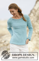 Athena Jumper by DROPS Design