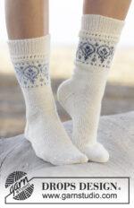 Nordic Summer Socks by DROPS Design