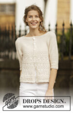 Timeless Beauty Cardigan by DROPS Design