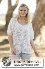 Always Ethereal Cardigan by DROPS Design