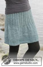 Angel Falls Skirt by DROPS Design