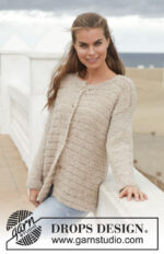 Sandy Cardigan by DROPS Design