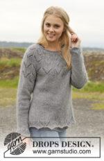 Fox Sweater by DROPS Design