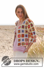 Summer patchwork by DROPS Design