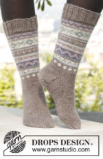 Ulrika Socks by DROPS Design