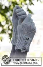 Emily Gloves by DROPS Design