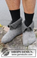 Hobbit shoes by DROPS Design