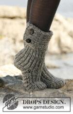 Moon Socks by DROPS Design