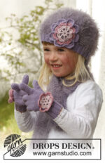 Michelle gloves by DROPS Design