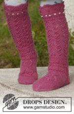 Princess socks by DROPS Design