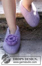Fairy Slippers by DROPS Design
