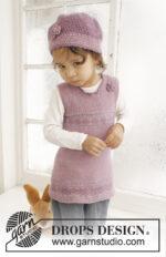 Sweet Violette by DROPS Design