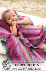 Rainbow Cuddles by DROPS Design