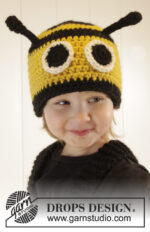 Bee Happy Hat by DROPS Design