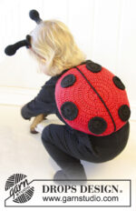 Ladybug in training by DROPS Design
